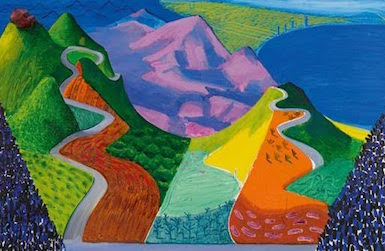 David Hockney Painting To Go On Block At Sotheby S In May