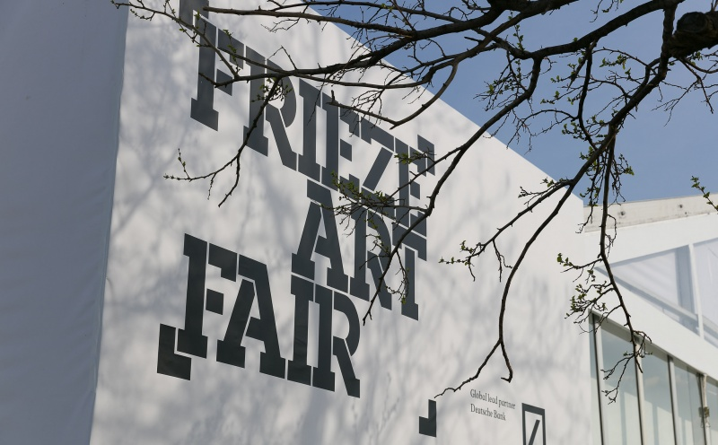 Here Are the Exhibitor Lists for Frieze London and Frieze