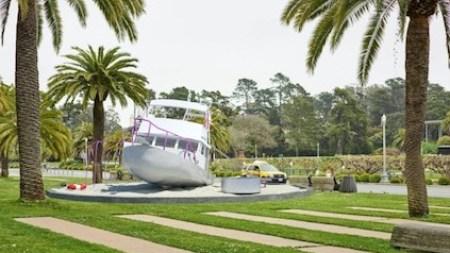 Cosima von Bonin Install 30-Foot-Long Playground