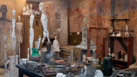 ' Little Time Capsule': Giacometti Institute