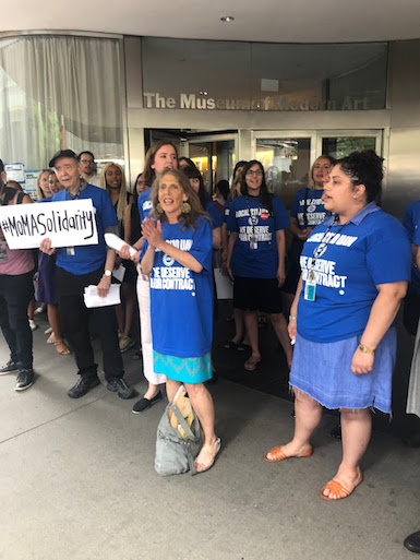 MoMA Union Reaches Contract Agreement with Museum Management After Protests