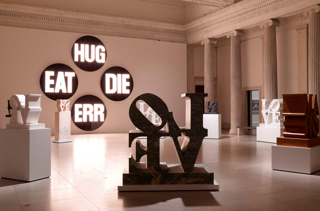 Labor of Love: Robert Indiana Retrospective Dazzles at Albright-Knox Gallery