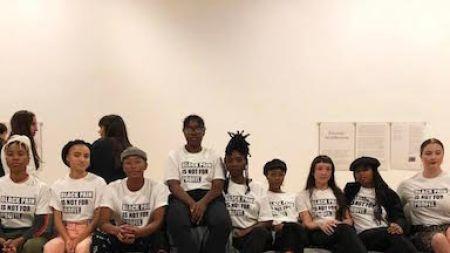 'Black Pain Is Not Profit': Collective