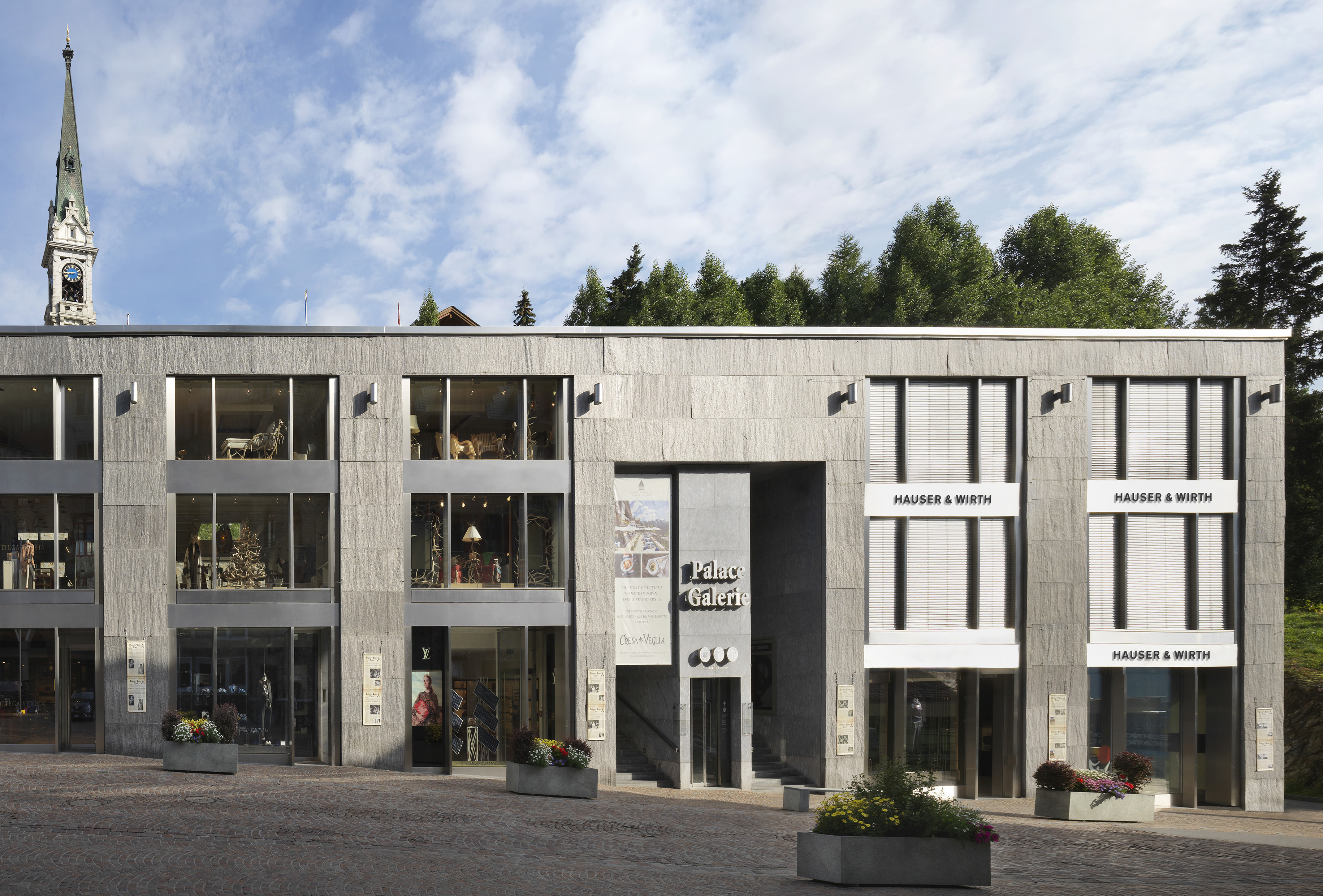 To the Mountains! Hauser & Wirth Will Open Gallery in St. Mortiz, Switzerland