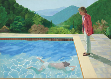 David Hockney Painting, Estimated at Around $80 M., Could Break Records in November Sale at Christie's