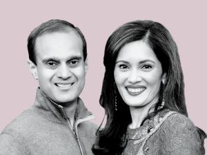 Komal Shah and Gaurav Garg