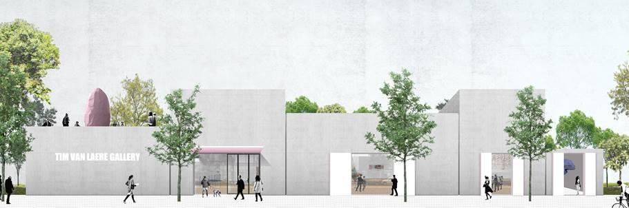 Antwerp's Tim Van Laere Gallery to Build New 10,800-Square-Foot Space