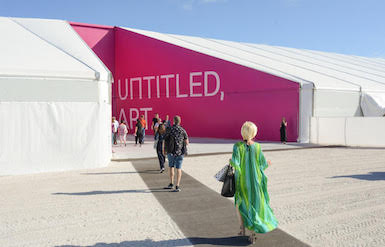 Here's the Exhibitor List for Untitled Art Fair in Miami Beach