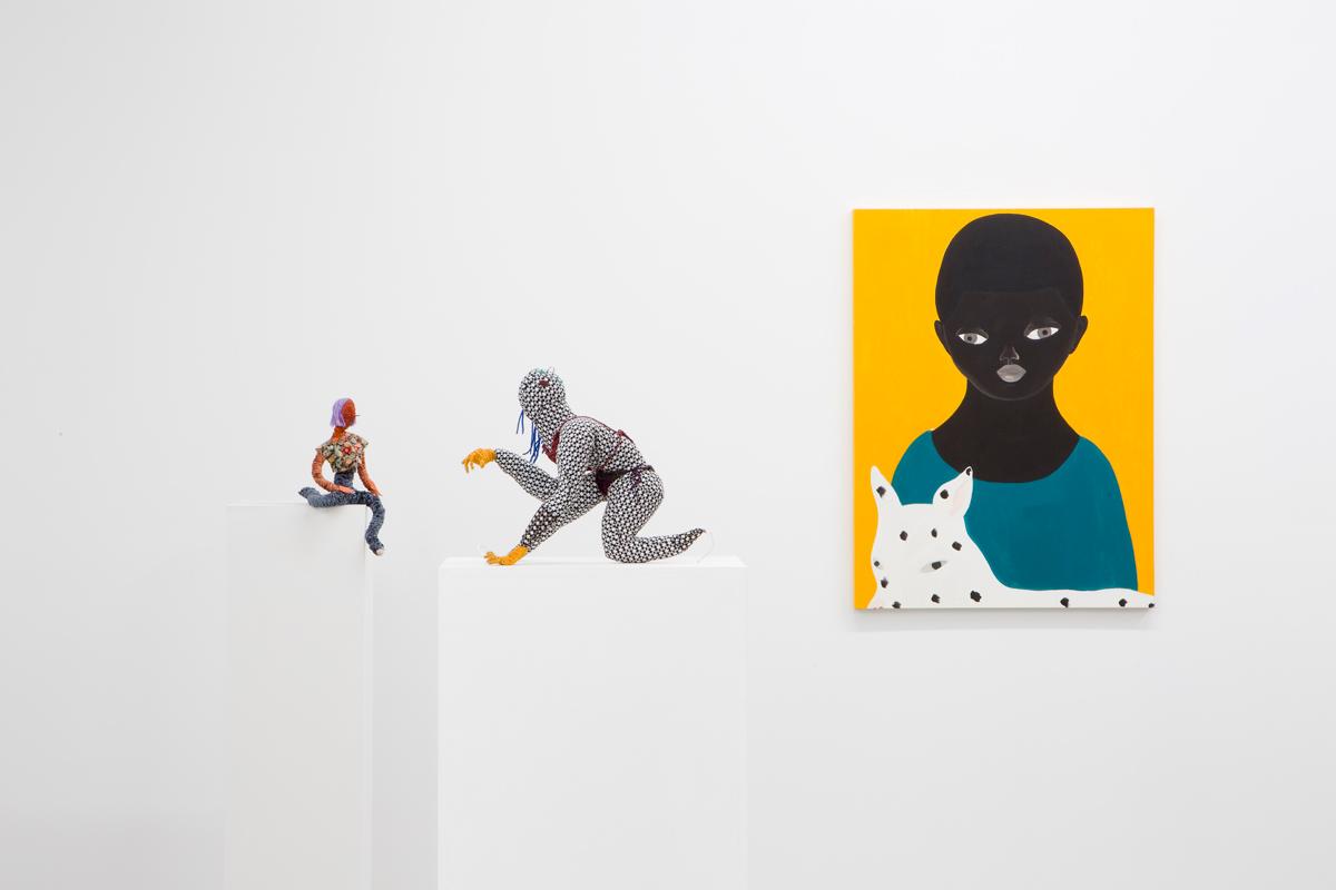 Asuka Anastacia Ogawa and Maria Guzmán Capron at Deli Gallery, Brooklyn