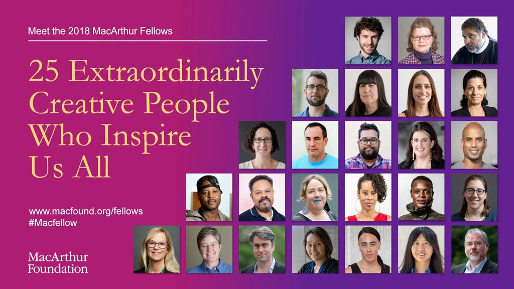MacArthur Foundation's 2018 'Genius' Grants Go to Julie ...