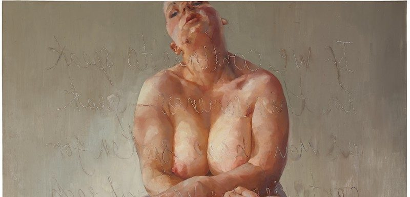 Jenny Saville Painting Sells for $12.4 M. at Sotheby's London, Record for Living Female Artist