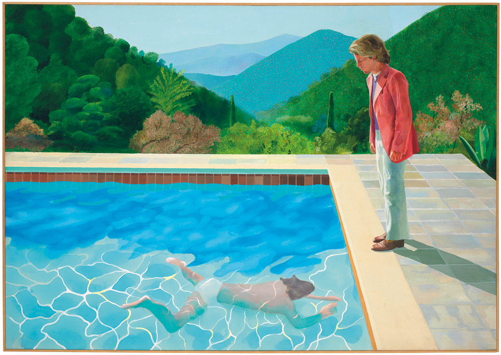 In Rare Moment of Market Transparency, Valuable Hockney Pool Painting to Be Sold Without Reserve
