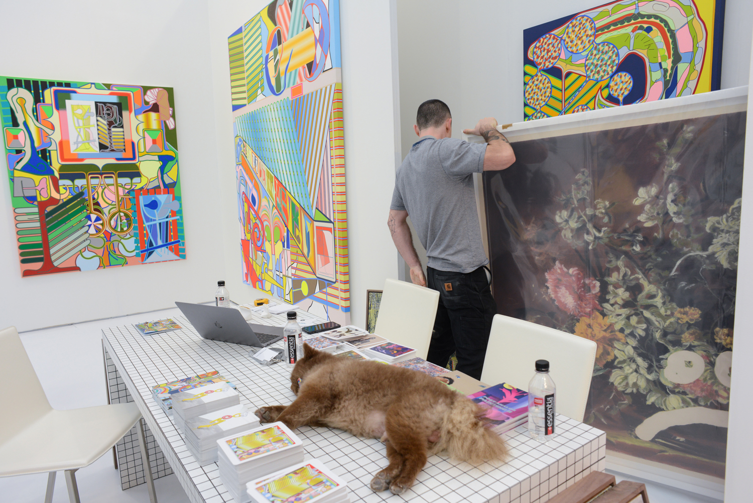 Scenes from Miami Art Week: Day 1