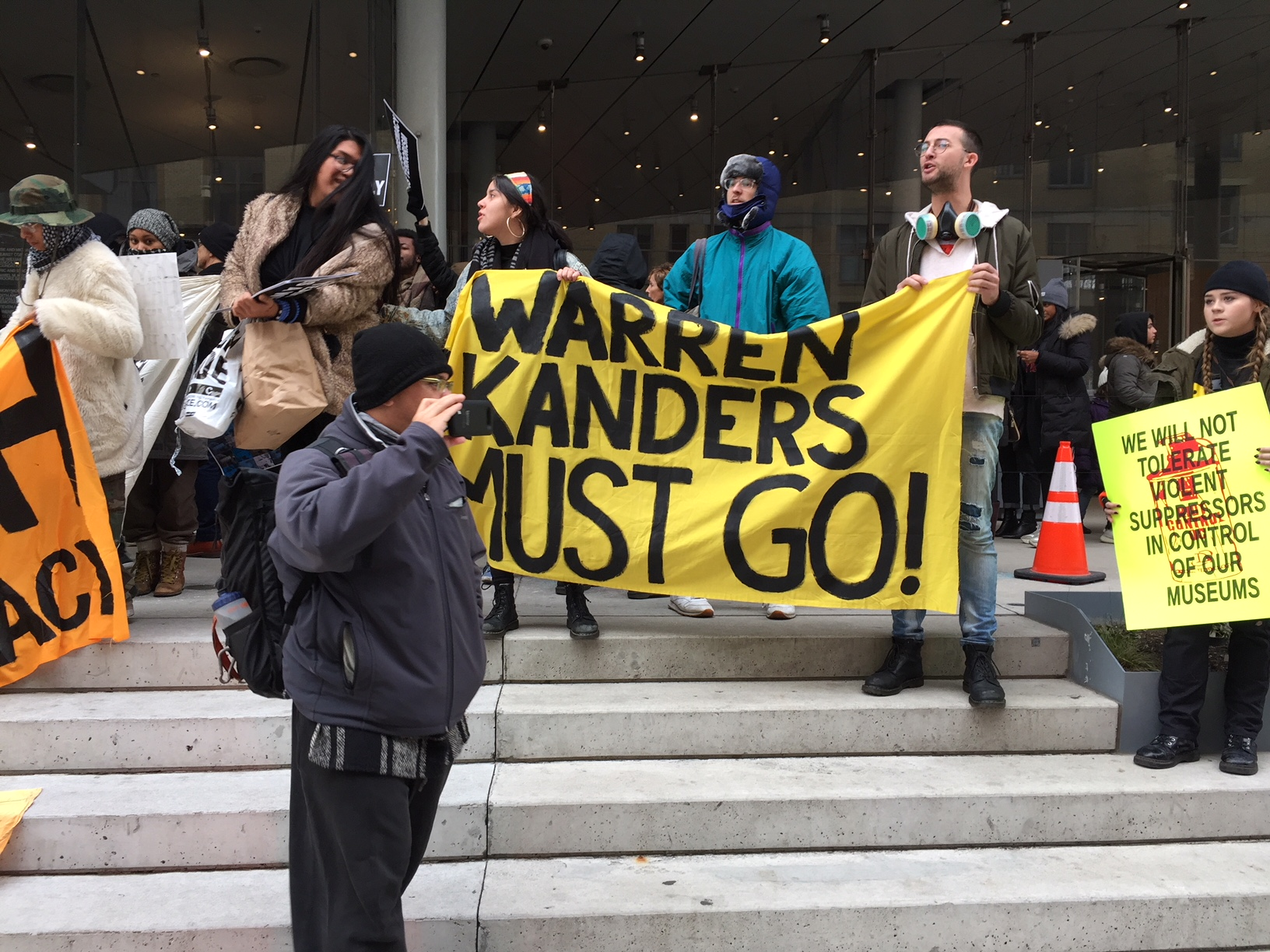 'No Space for Profiteer of State Violence': Decolonize This Place Protests Whitney Vice Chair Warren B. Kanders
