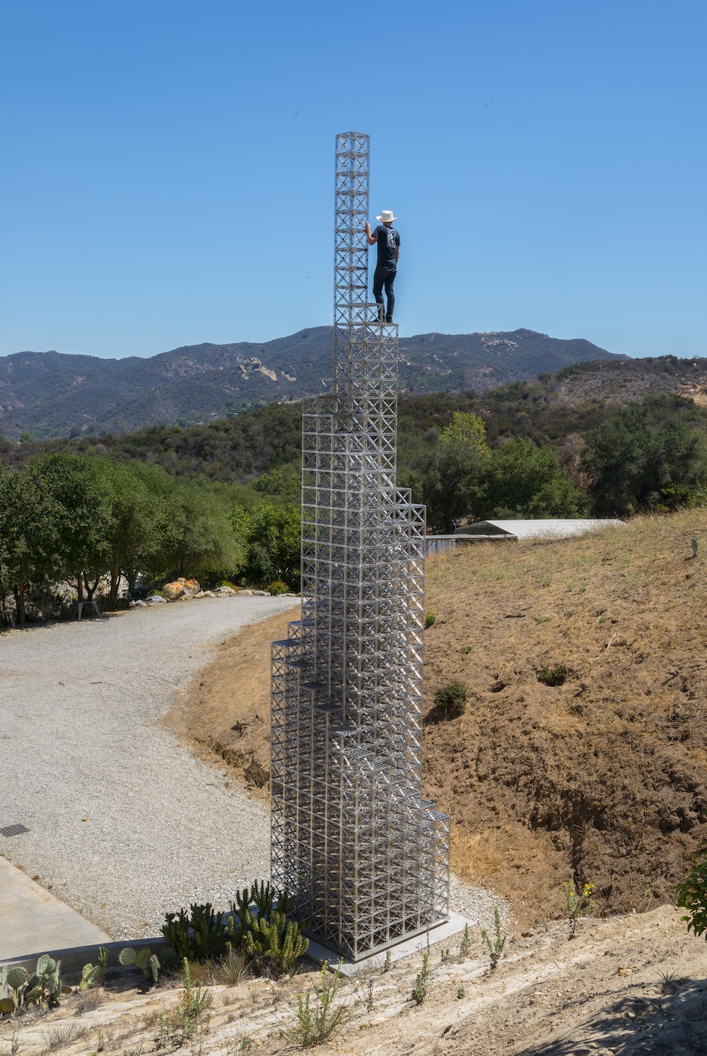 The Sky Is the Limit: 40-Foot-Tall Chris Burden Tower Will Go on View in Geneva