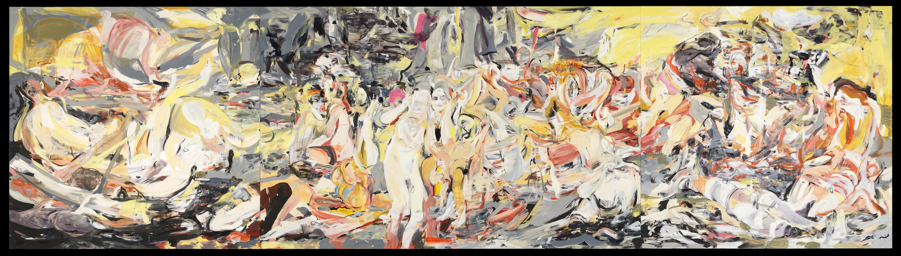 Cecily Brown Donates Behemoth Painting to Louisiana Museum in Denmark