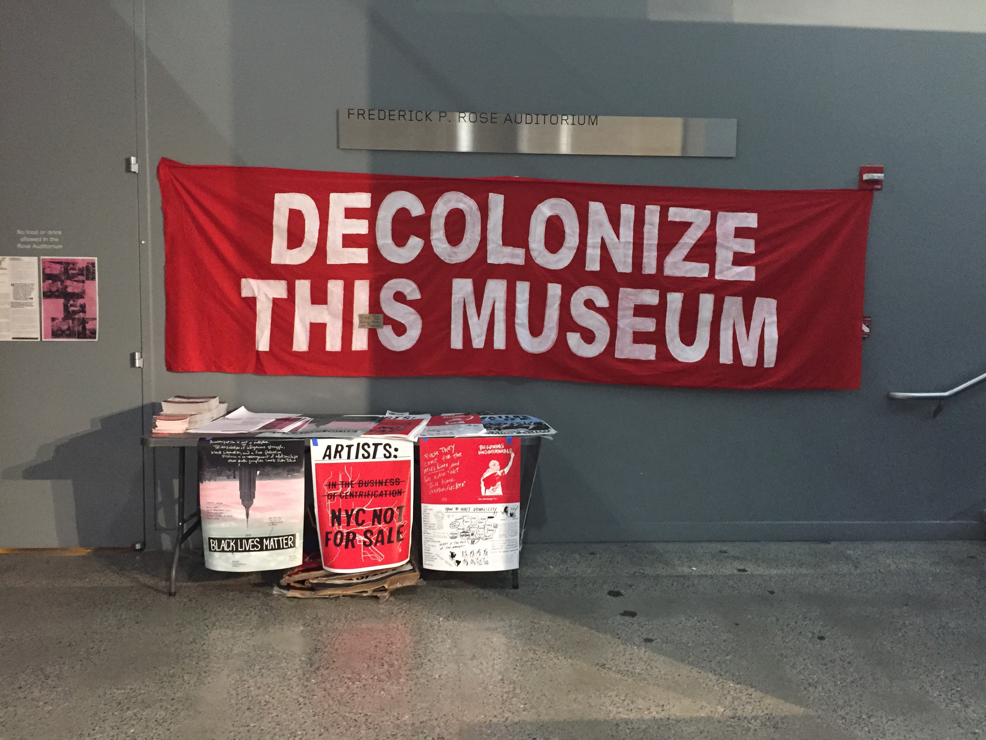 'Whitney Museum, Shame on You': Decolonize This Place Holds Town Hall on Warren B. Kanders Controversy