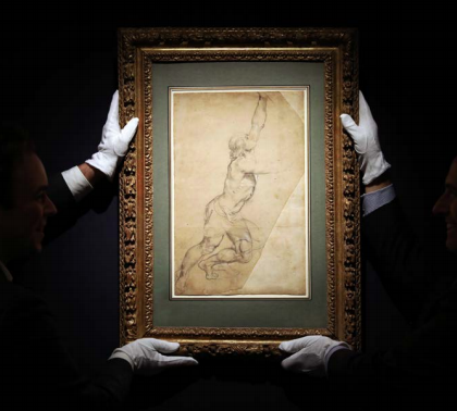 Peter Paul Rubens Drawing Sells for Record-Setting $8.2 M. at Sotheby's