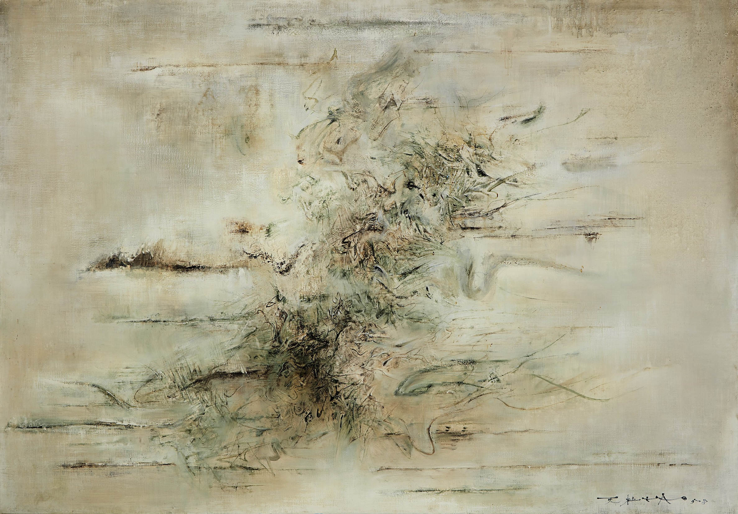Guggenheim Museum to Sell Zao Wou-Ki Painting at Sotheby's Hong Kong in March