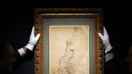 Peter Paul Rubens Drawing Sells Record-Setting