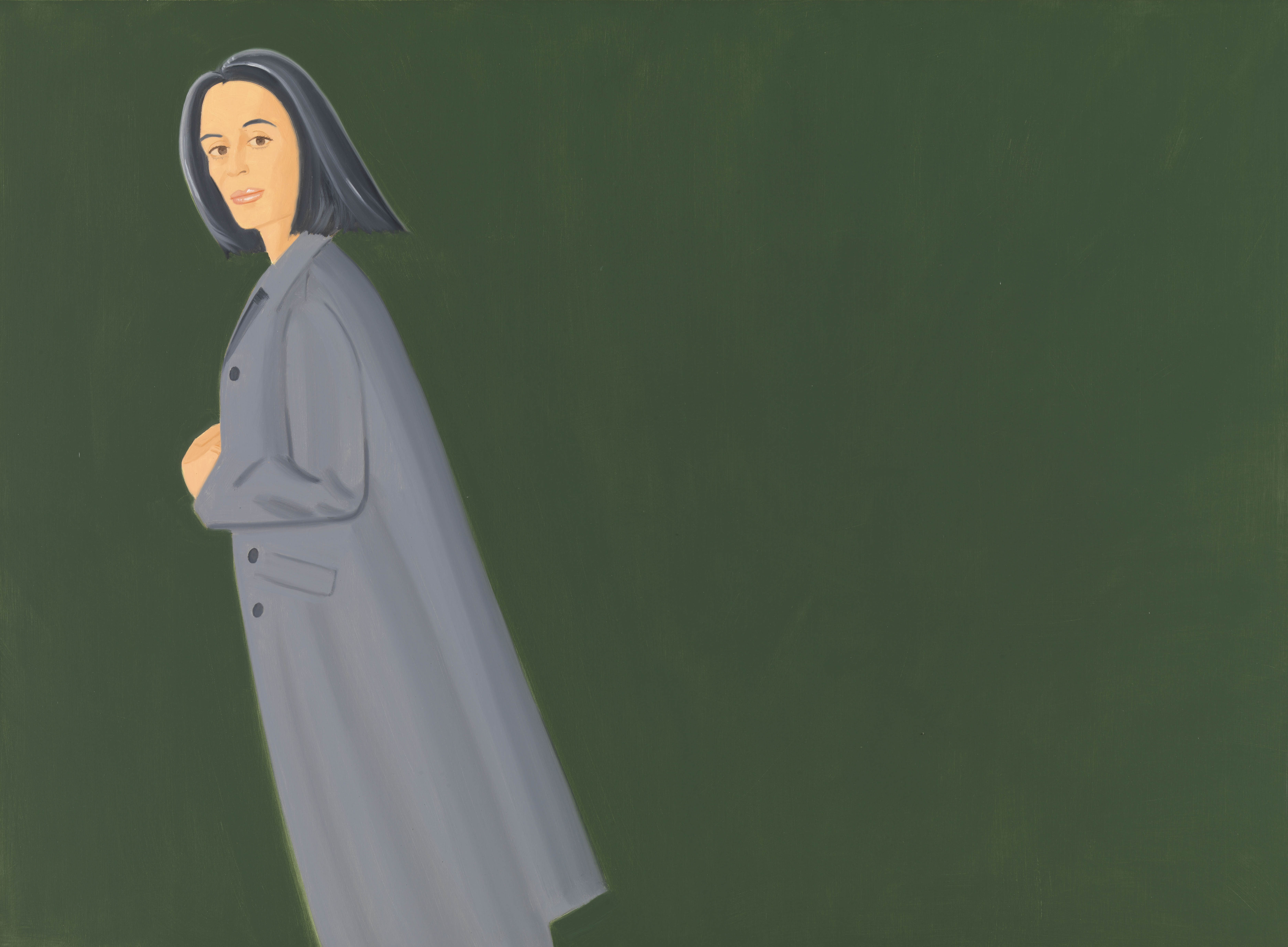 From the Archives: Alex Katz Paints a Picture, in 1962