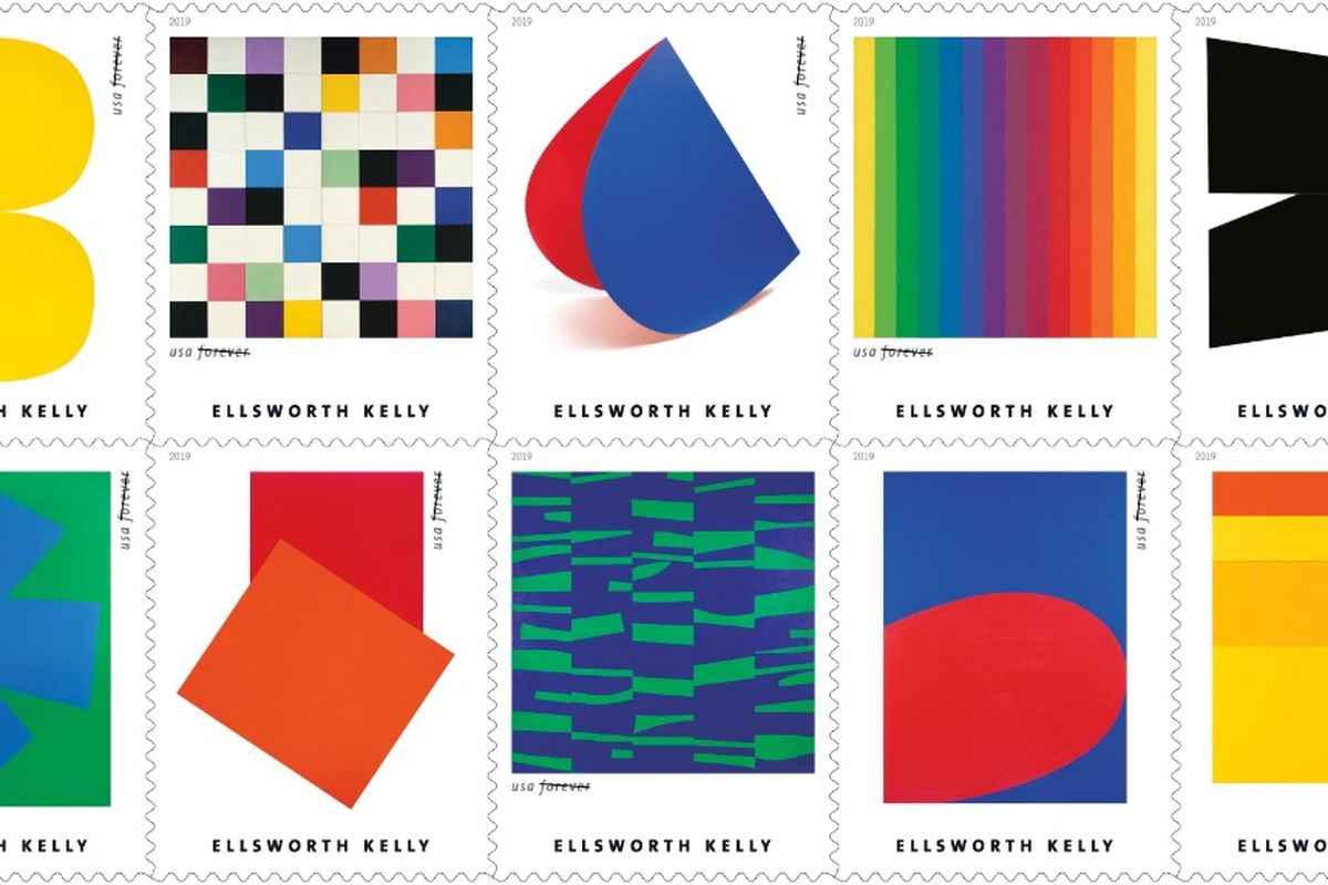Morning Links: Ellsworth Kelly in the Mail Edition