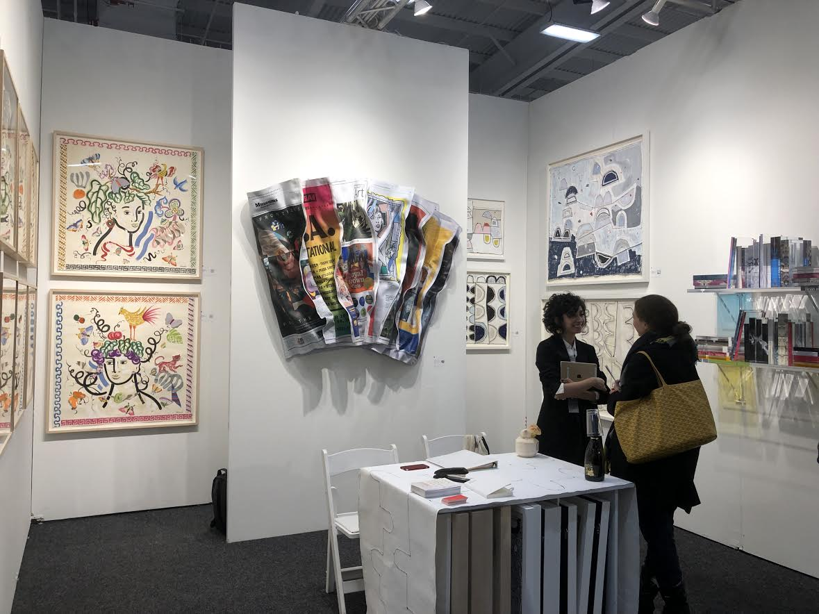 Lines and Coconuts: Art On Paper Fair Opens on New York's Lower East Side