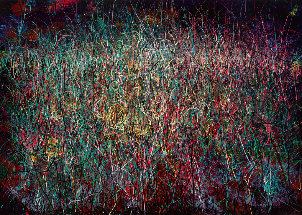 LACMA Acquires 12-Foot-Long Zeng Fanzhi Painting