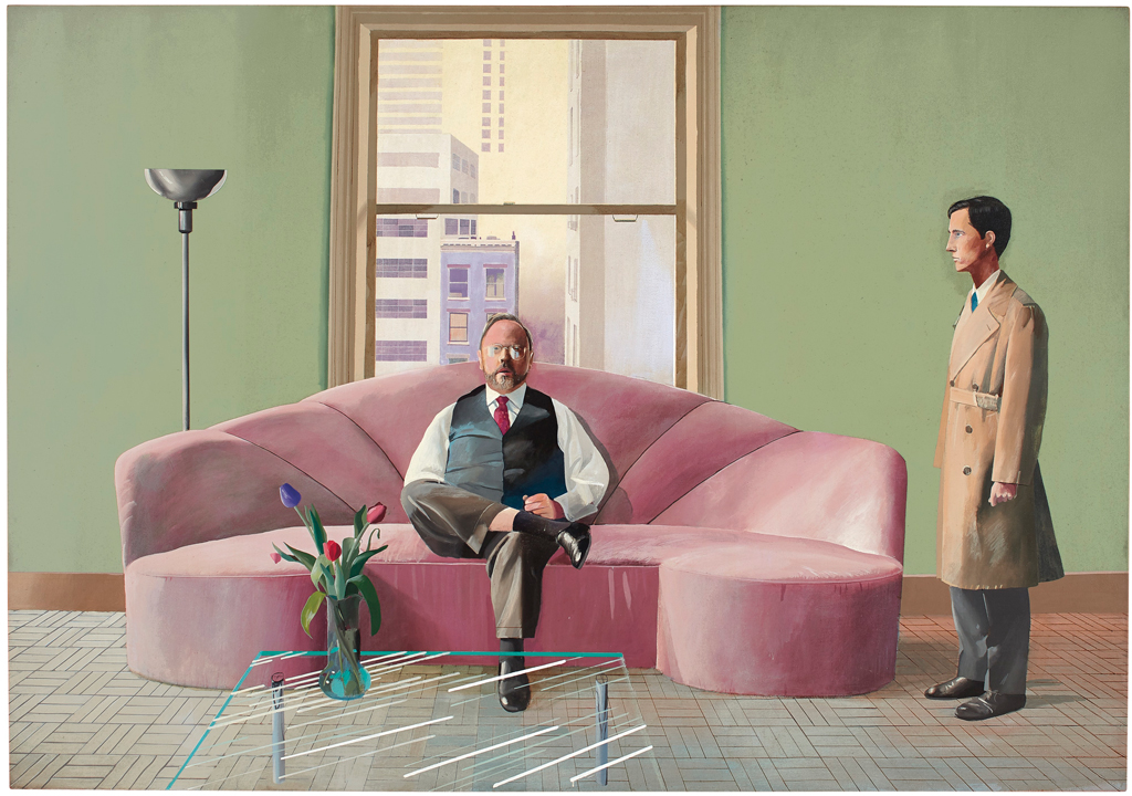 David Hockney Double Portrait Earns $49.5 M. at $104.6 M. Christie's London Contemporary Sale