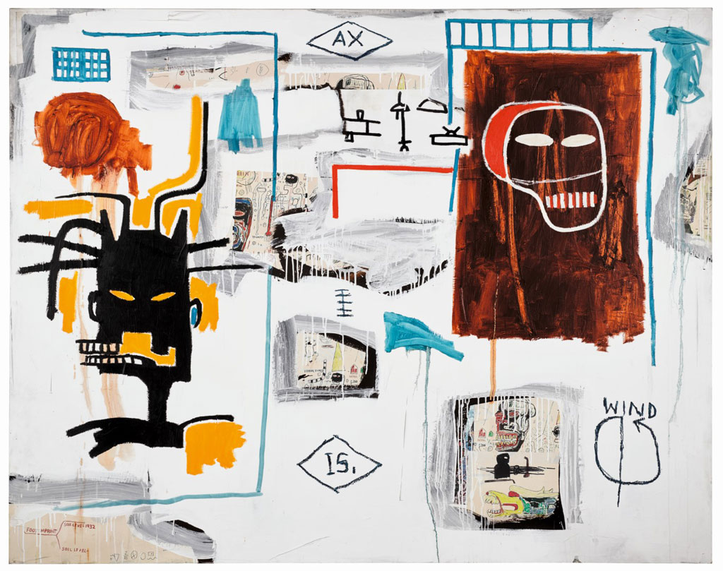 $10.8 M. Basquiat Leads Robust $122.9 M. Sotheby's Contemporary Sale in London