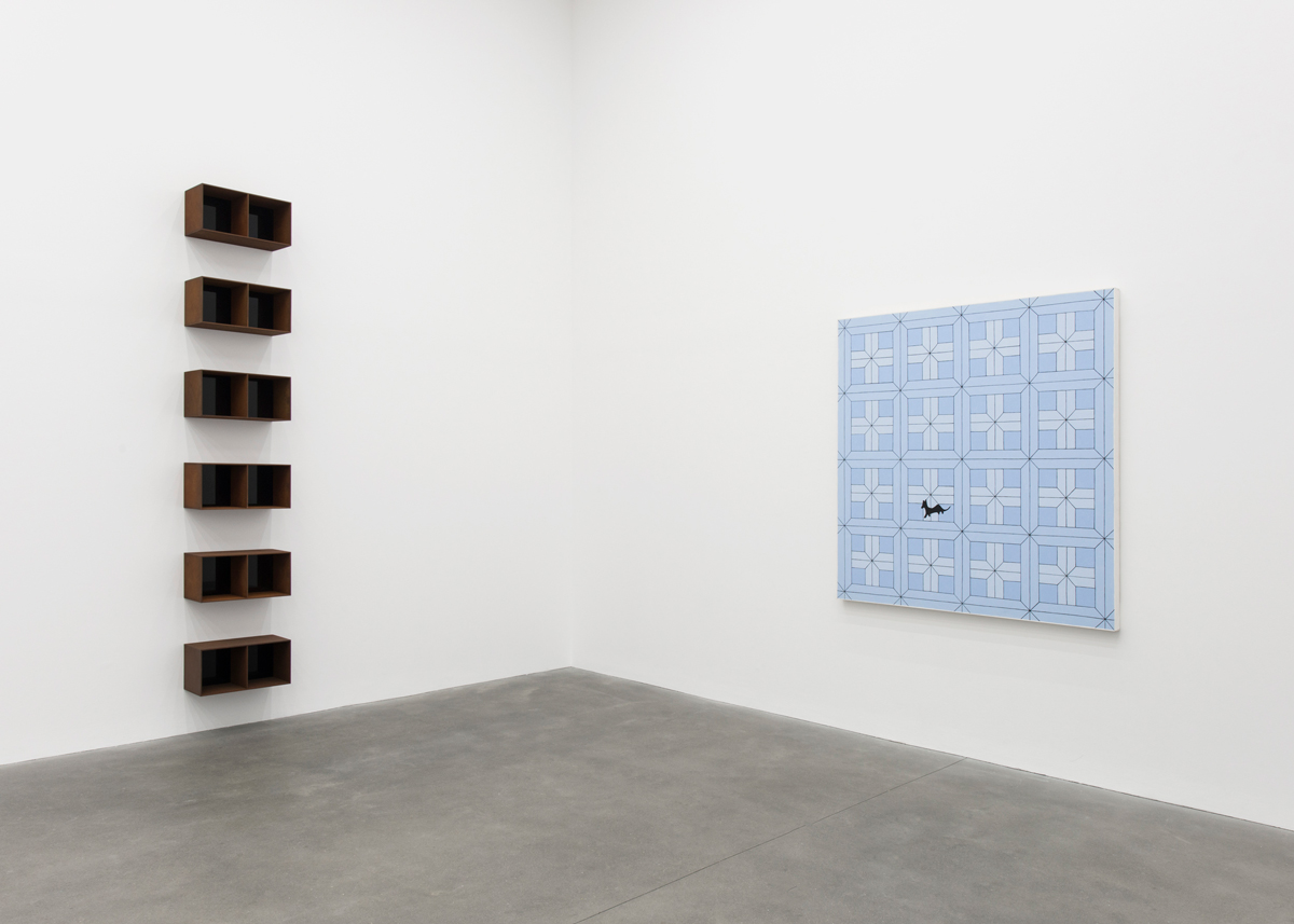'An Unlikely Friendship: John Wesley in Conversation with Donald Judd' at Alison Jacques Gallery, London
