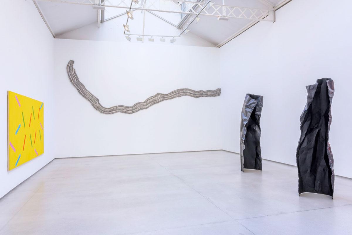 Rosemarie Castoro at Galerie Thaddaeus Ropac, Paris