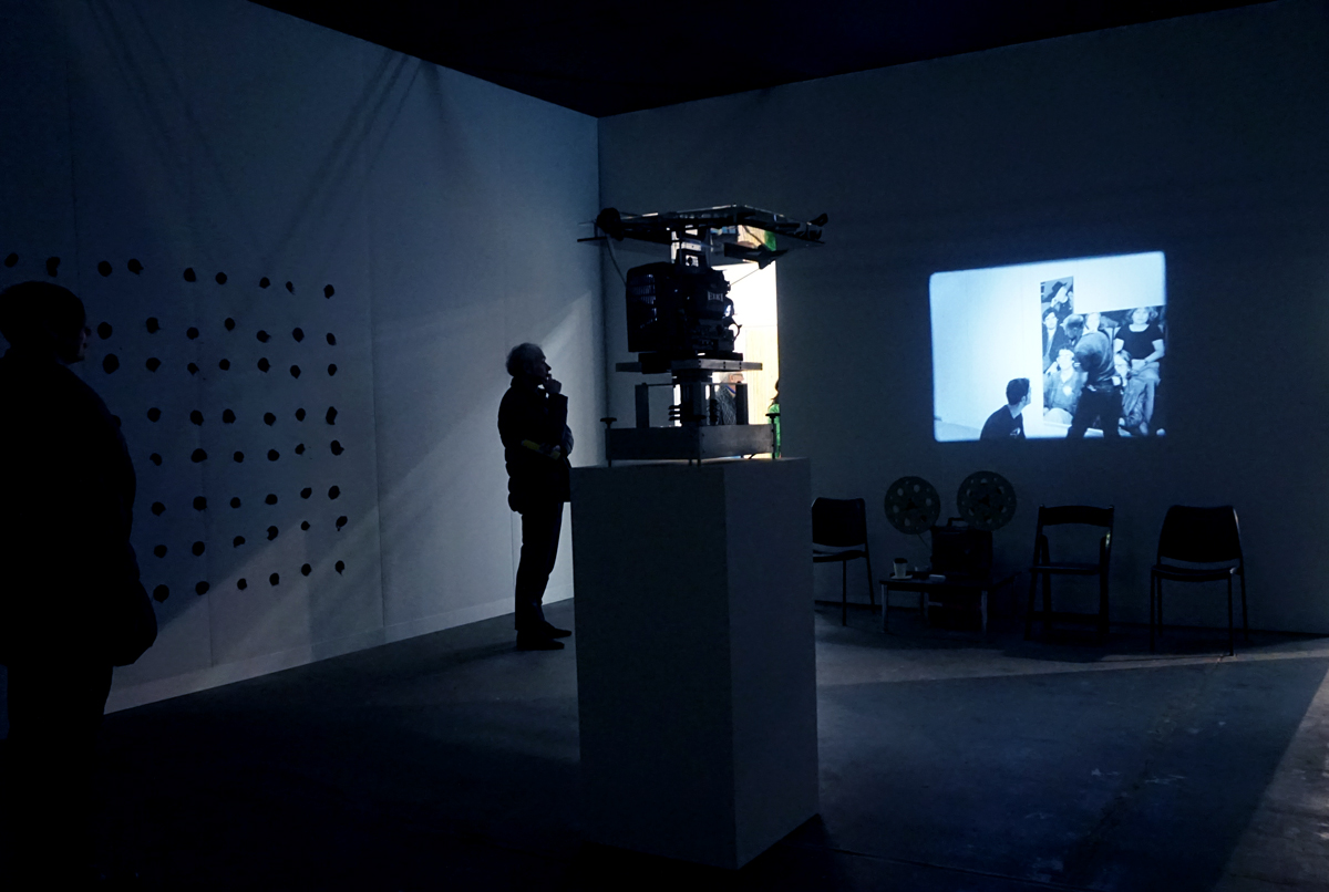People Watching: Historic Robert Morris Film Installation Enchants at the Armory Show