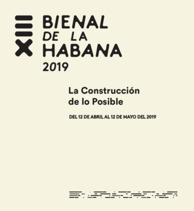 Here's the Artist List for the 2019 Havana Biennial
