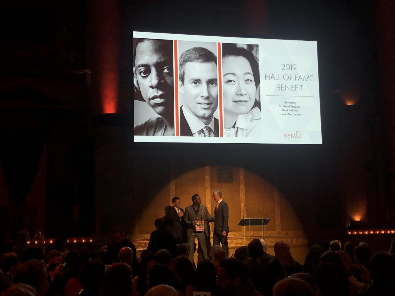 'Because Art Uplifts!': New York Foundation for the Arts Inducts Sanford Biggers, Karl Kellner, Min Jin Lee to Hall of Fame