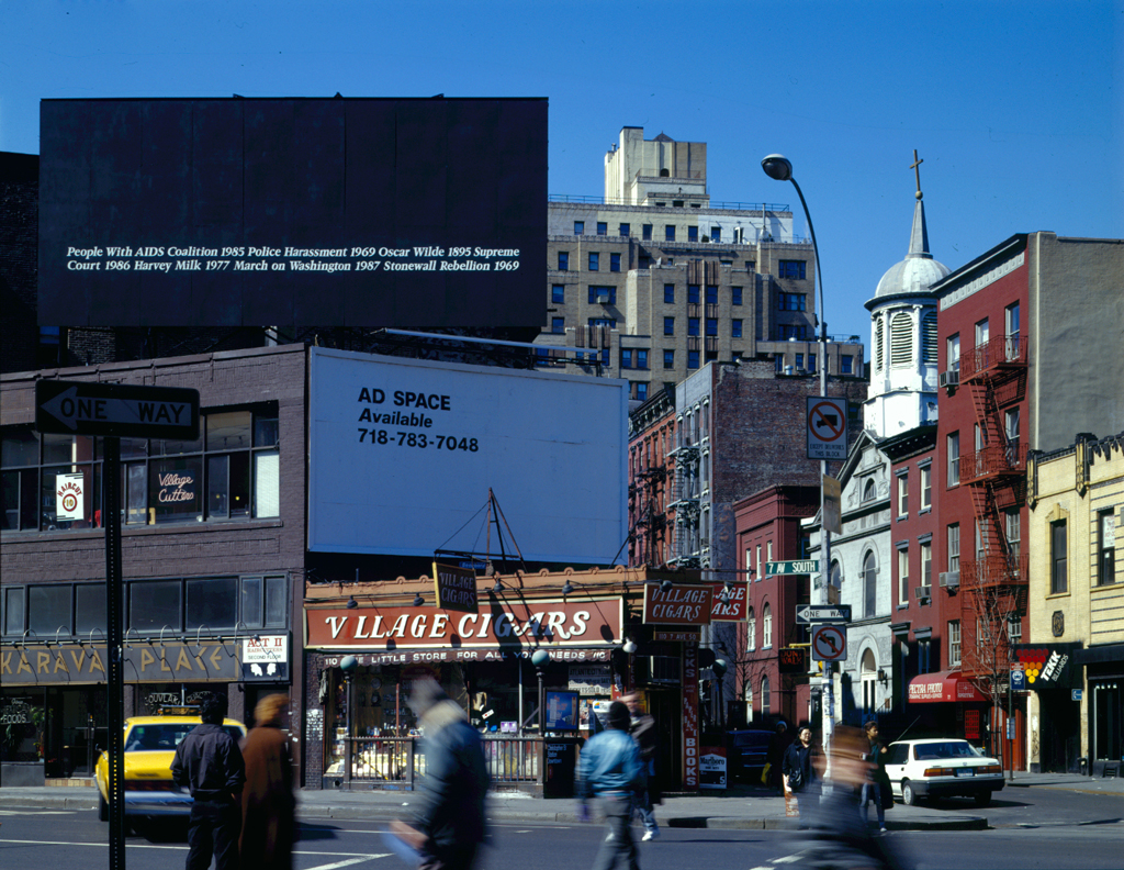 For 50th Anniversary of Stonewall Rebellion, Public Art Fund Will Restage Felix Gonzalez-Torres Billboard