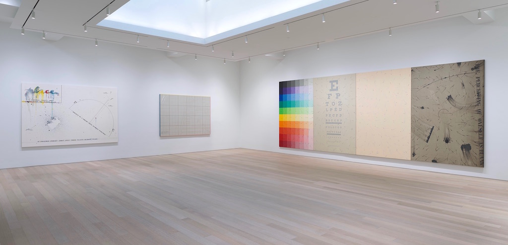 Arrows to Everywhere: Paintings by Arakawa Beguile at Gagosian in New York