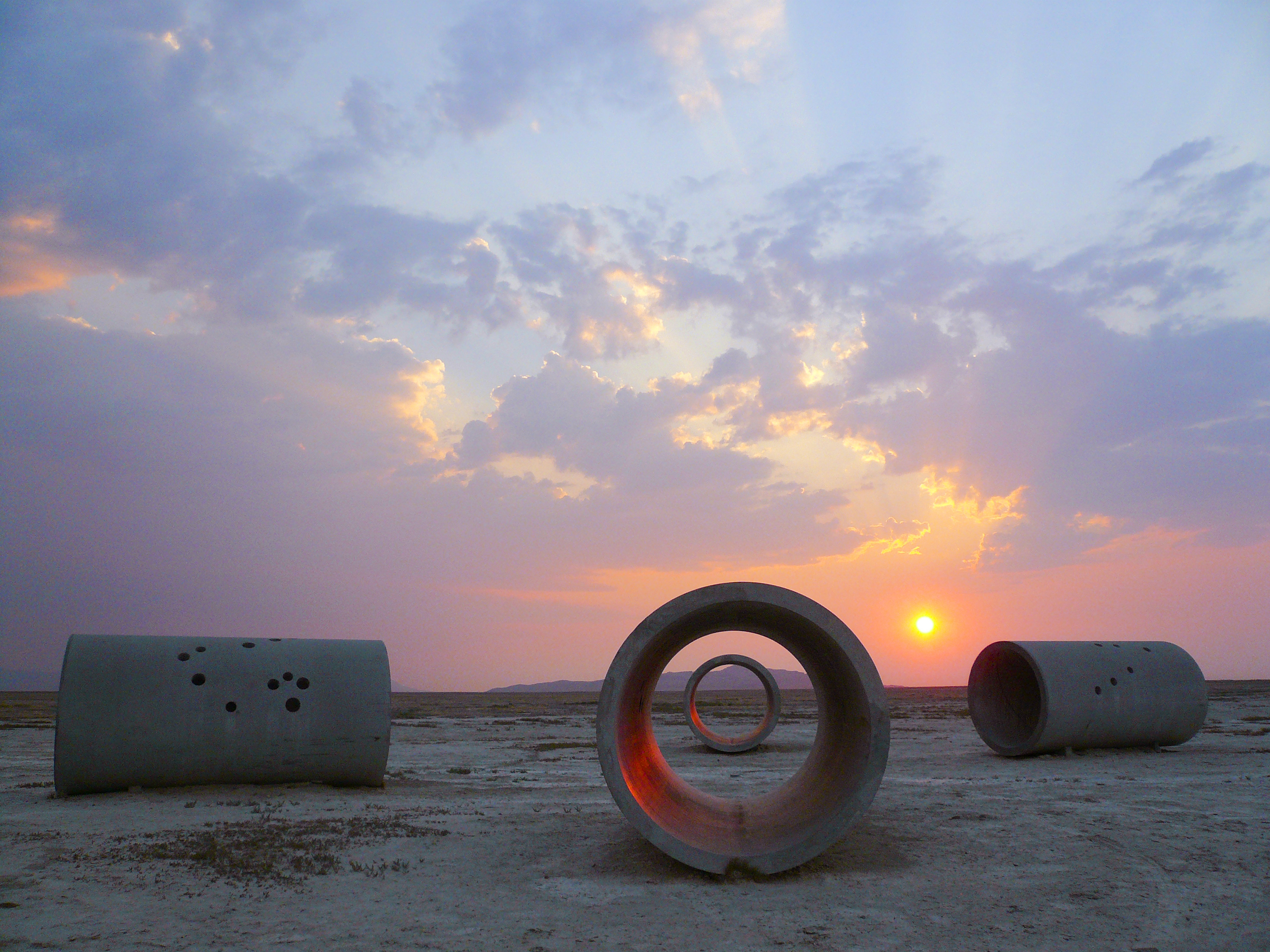 Nancy Holt's Land Art Sculpture 'Sun Tunnels' to Be Conserved by Dia Art Foundation