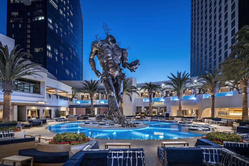 Las Vegas Palms Unveils Damien Hirst 'Demon,' $1 M  Party Package