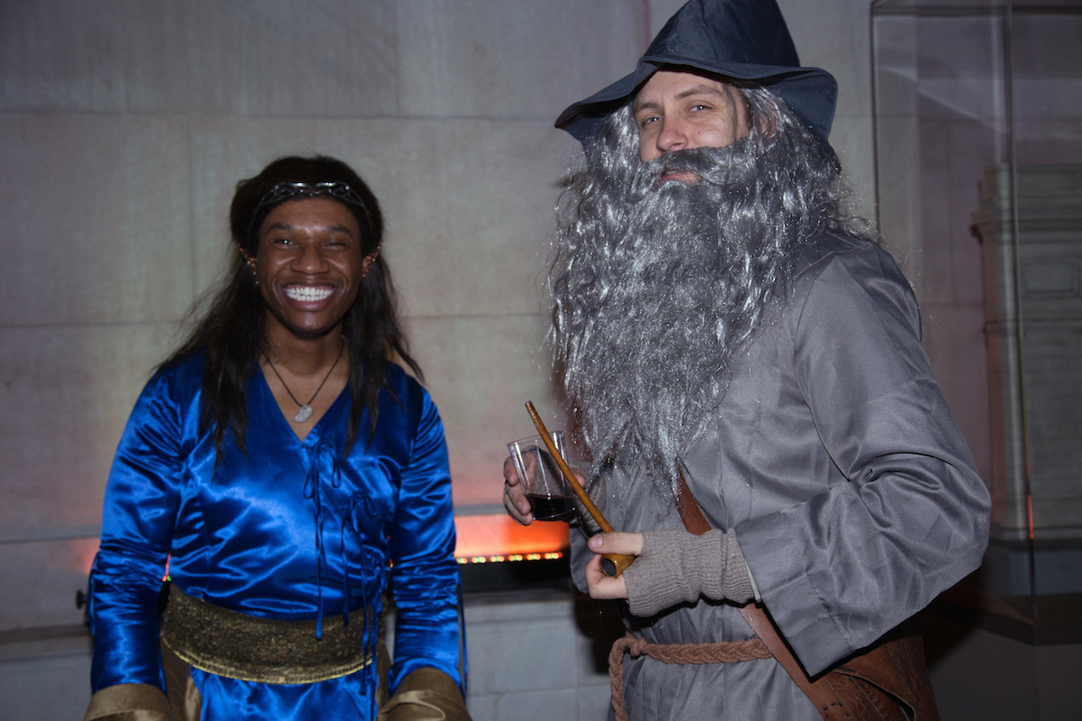 Down to Middle-Earth at the Hobbit Rave: Morgan Library Throws Tolkien-Themed Party