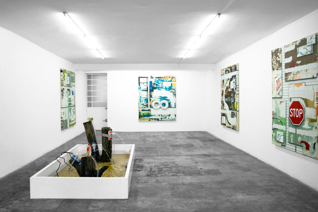 Josh Reames at Celaya Brothers Gallery, Mexico City
