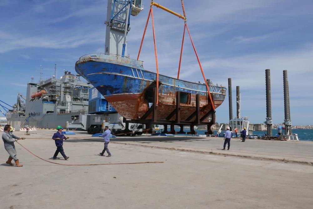 In Venice, Christoph Büchel Will Show Ship That Sank in