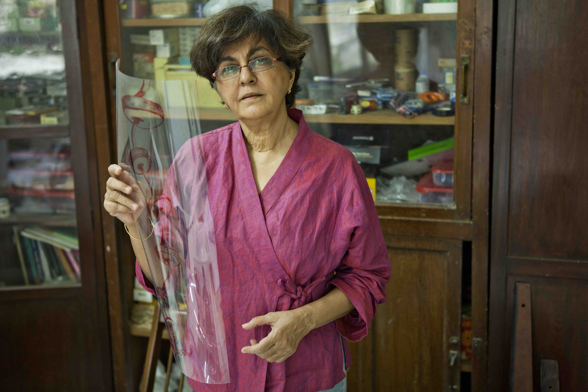 Nalini Malani Wins $77,800 Joan Miró Prize
