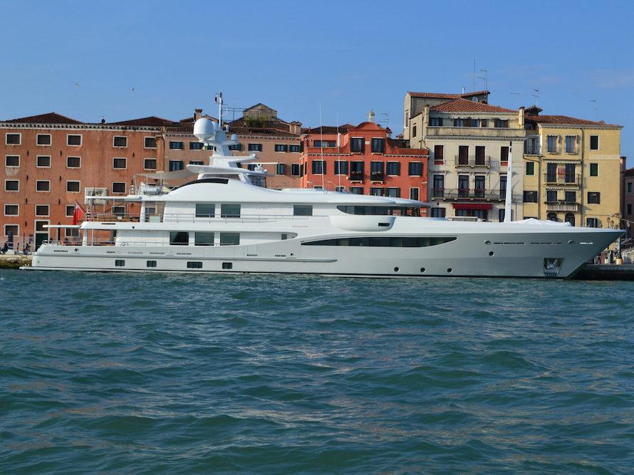 The Venice Biennale: Yacht Watch