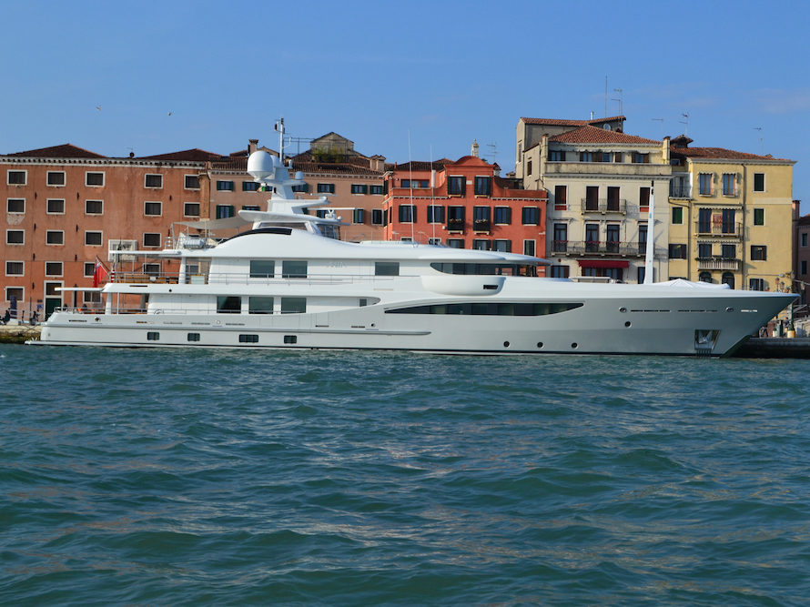 The Venice Biennale Yacht Watch Artnews