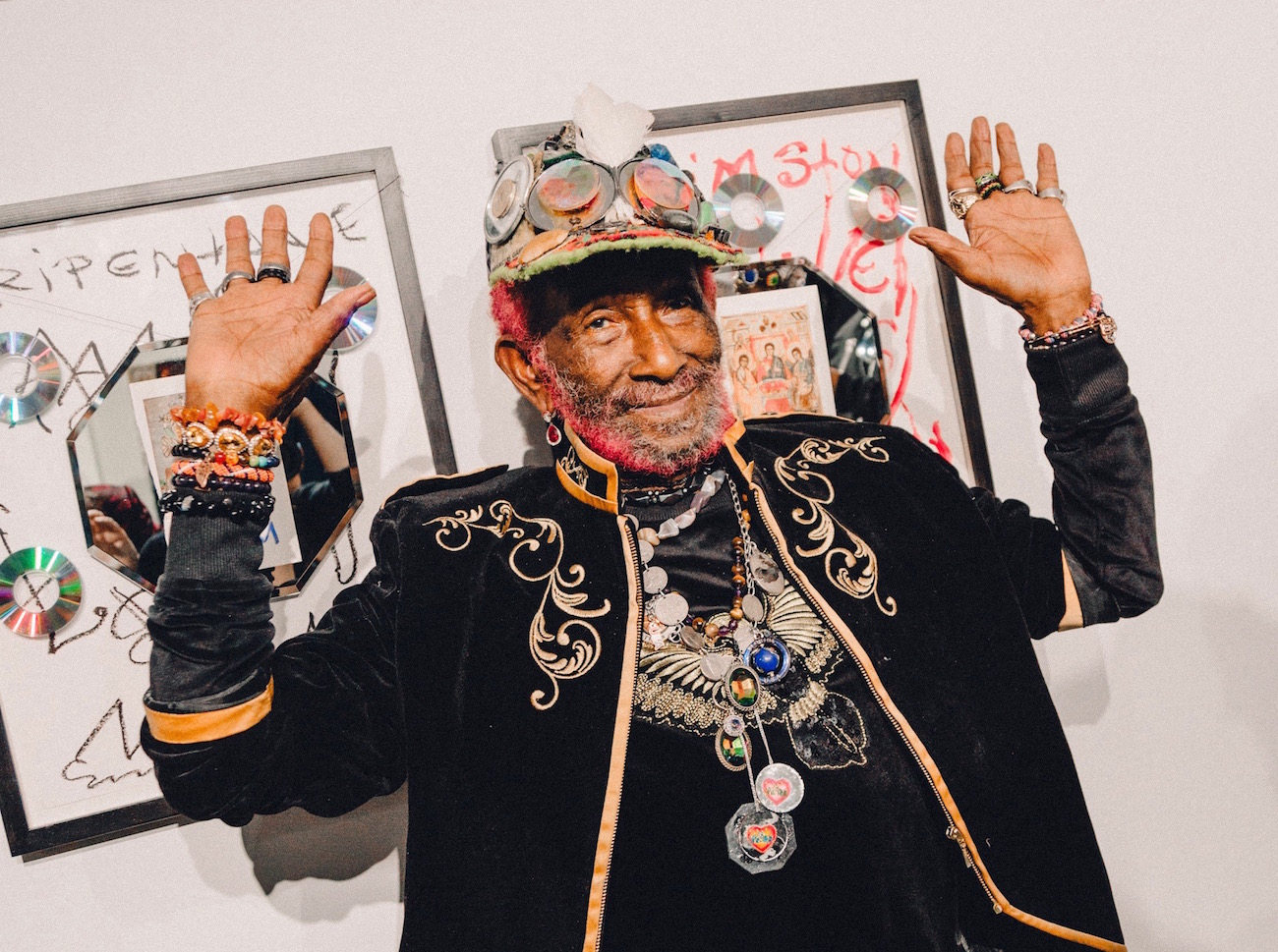 'Dub in Physical Form': Reggae Legend Lee 'Scratch' Perry Makes His Exhibition Debut in New York