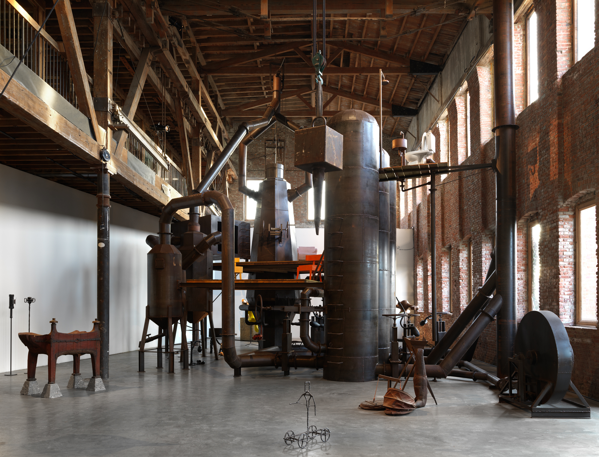 Joep van Lieshout's 40-Foot 'Blast Furnace' Heads to Art Omi in Upstate New York for Two-Year Sojourn