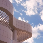 The Getty Center's Richard Meier–design campus