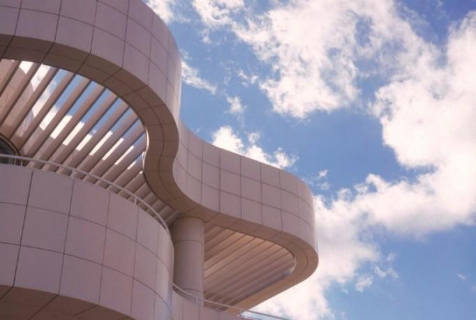 The Getty Center's Richard Meier–design campus