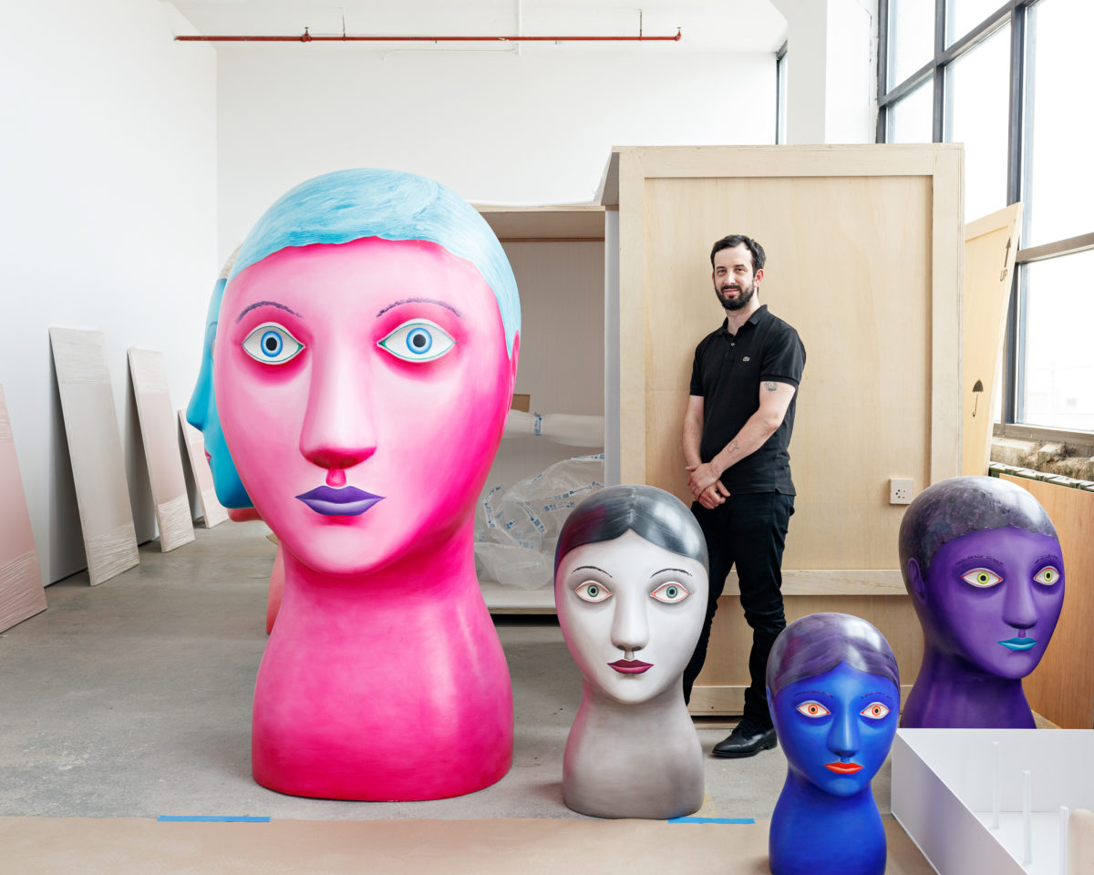 Hauser & Wirth Takes on Fast-Rising Artist Nicolas Party